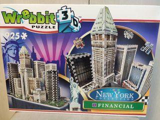 puzzle Wrebbit 3d New York Financial