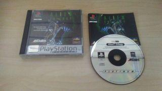 Alien Trilogy Platinum PS1 / PSX Seminuevo