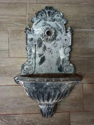 Fuente de hierro fundido