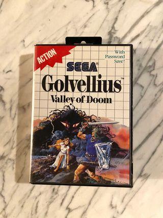 Golvellius Master system