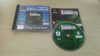 Rainbow Six PS1 / PSX Seminuevo