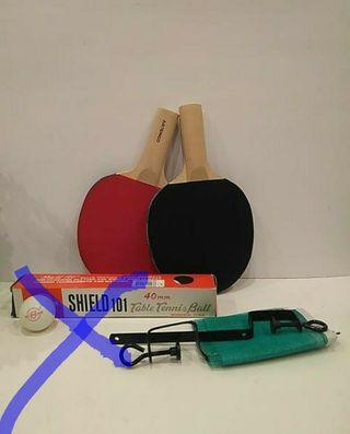 Conjunto Ping-Pong para cualquier mesa de la casa