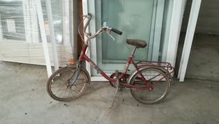 Bicicleta BH antigua.
