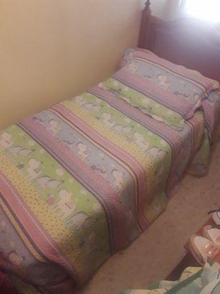 Colcha infantil para cama de 90