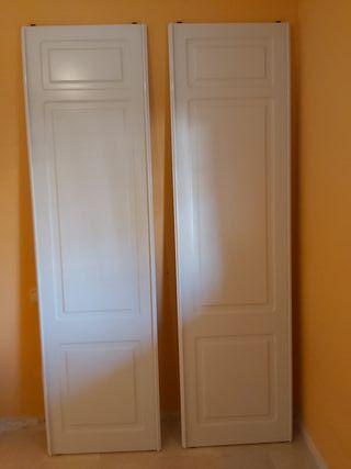 Puertas correderas de armario y premarco de obra
