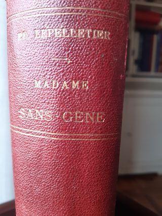 MADAME SANS-JENE. Literatura Francesa