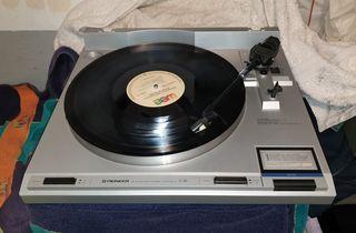 Giradiscos Pioneer PL-760 , Tracción Directa