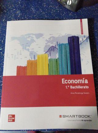 Libro de texto ECONOMÍA 1º Bachillerato McGrawhill