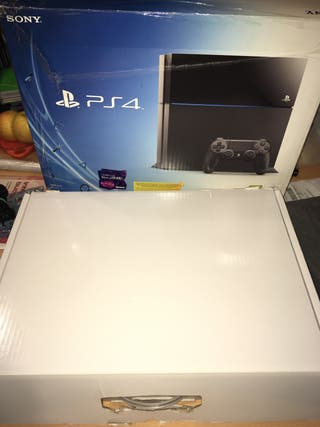Caja vacía PS4 fat 500 gb