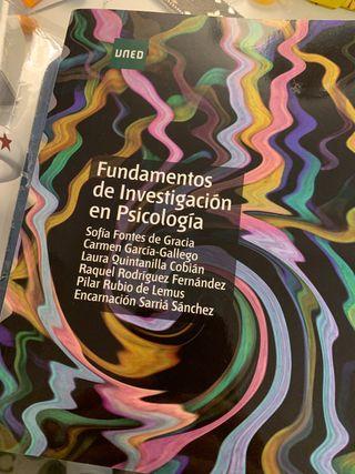 Fundamentos de investigación en Psicología UNED