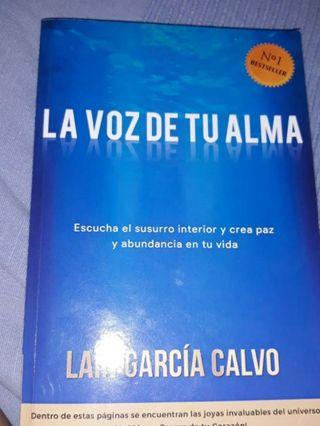 LA VOZ DE TU ALMA . libro .