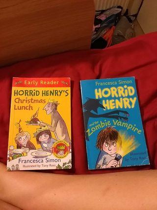Horrid Henry books (2)