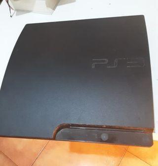 PS3 + Mando (no original) + 9 juegos