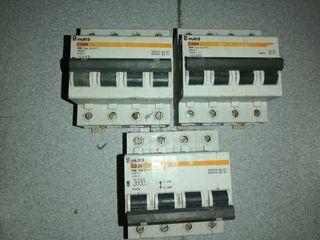 Automáticos 3 y 4 polos, 32A y 40A