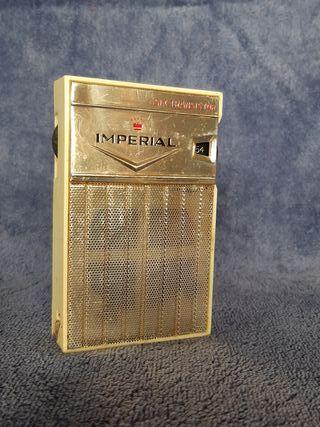 Transistor Imperial Six de 1962