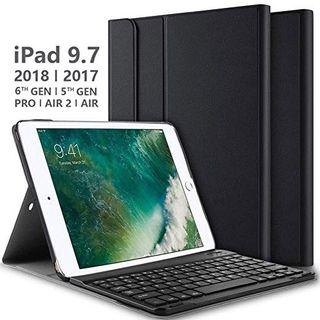 Funda con Desmontable Teclado para iPad NUEVA