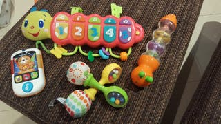 Lote juguetes bebé