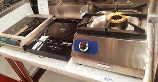 Cocina sobremesa, wok, inducción