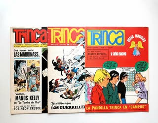 TRINCA Revista Juvenil. 3 números. Años 70. Cómics