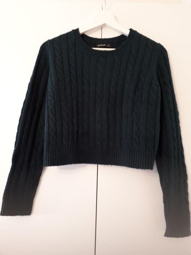 jersey trenzado stradivarius