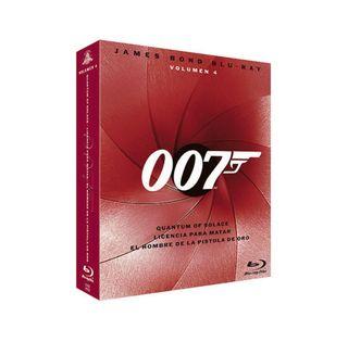"Pack ""James Bond Volumen 4"" en Blu-ray a estrenar"