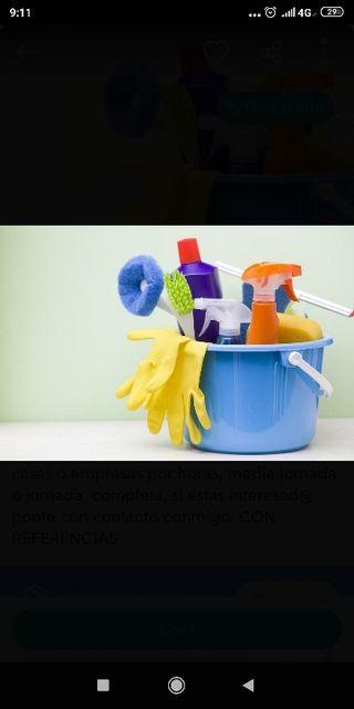 busco empleo de limpieza de hogar