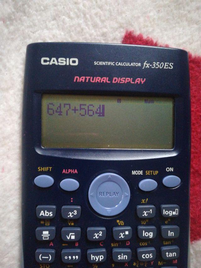 calculadora científica, en perfecto estado