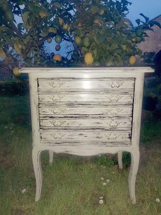 Mueble cubertero antiguo