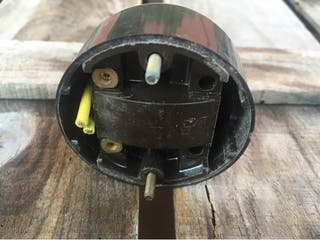 Antiguo interruptor de baquelita