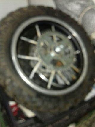 ruedas mini moto