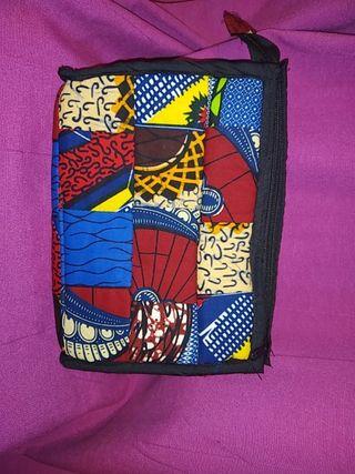 Bolso de tela africana