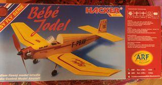 Avión radio control HACKER Bébé Jodel
