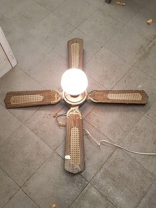 ventilador de techo antiguo