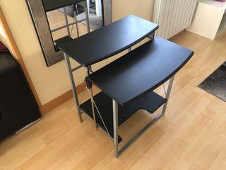 Mesa de ordenador plegable