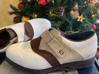 Zapatos golf mujer 37