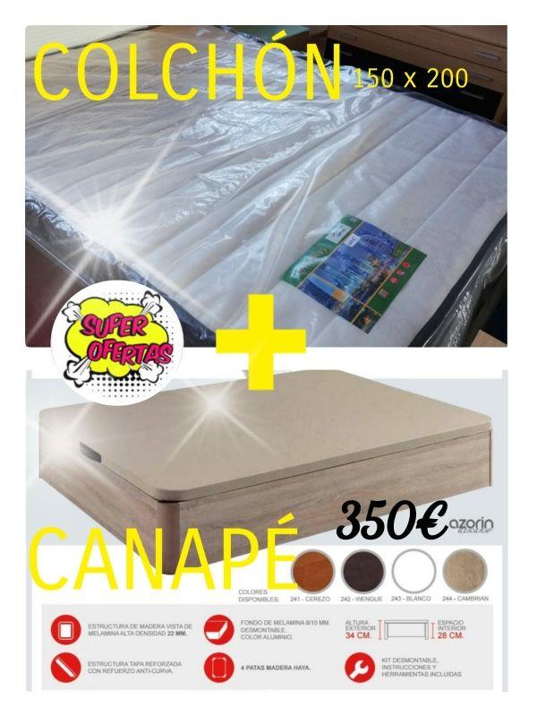 canape +colchón