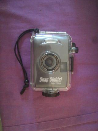 cámara analógica acuática