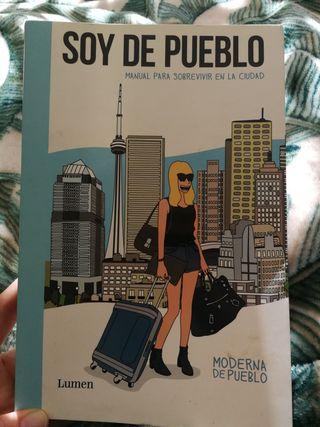 """Libro """"Soy de pueblo"""""""