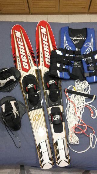 Esquís/Skis acuáticos Pack