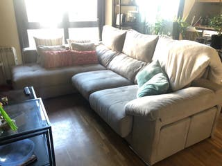 Sofa 3 plazas con chaislonge