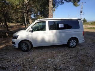 VW T5 Trasero Amortiguadores Par Amortiguadores Transporter Camper Premium Calidad de Gas