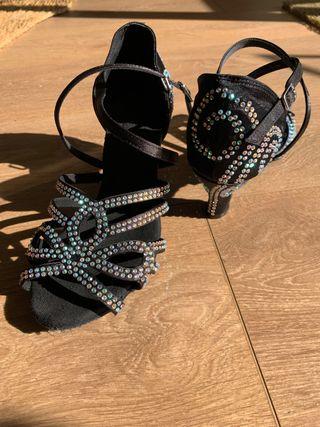 Zapatos de baile salsa n37