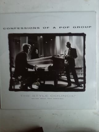 THE STYLE COUNCIL - CONFESSIONS OF A POP GROUP LP