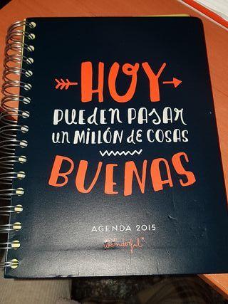 Agenda mr wonderful nueva.