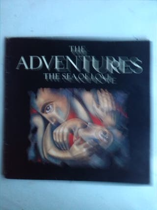 THE ADVENTURES - THE SEA OF LOVE LP