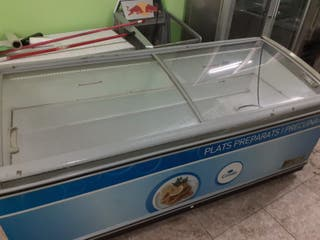 Congelador horizontal hosteleria expositor