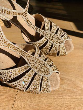 Zapatos de baile latino n37
