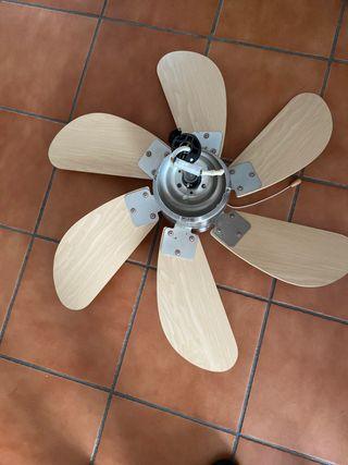 Lámpara ventilador de techo