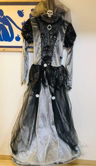 Precioso Disfraz Novia Cadáver