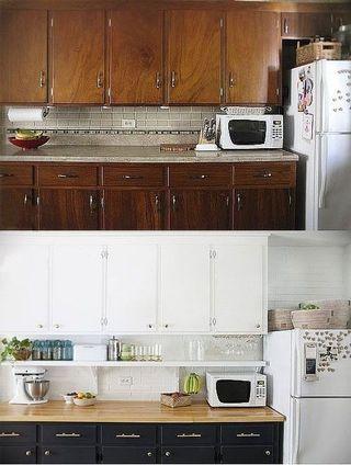 Pinto tus muebles de cocina